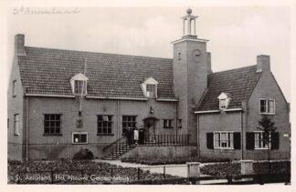 Ansichtkaart Sint Annaland Het Nieuwe Gemeentehuis Tholen HC17732