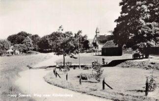 Ansichtkaart Hoog Soeren Weg naar Klinkenberg Kerk 1963 HC17733