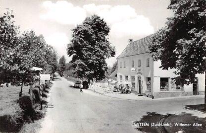 Ansichtkaart Wittem Wittemer Allee Café Oud Wittem HC17736