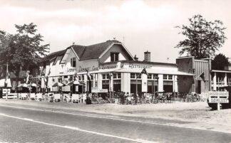 Ansichtkaart Leersum Café Restaurant 't Jachthuis Damlust 1959 HC17740