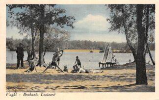 Ansichtkaart Vught Brabants Lustoord aan het meer De IJzeren Man Zwembad 1953 HC17763