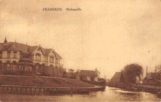 Ansichtkaart Franeker Molenpolle 1928HC17780
