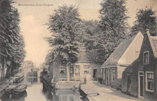 Ansichtkaart Monnickendam Korte Burgwal 1926 HC17781