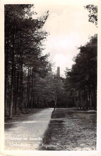 Ansichtkaart Austerlitz Groeten van 1960 Gedenkteken van Napoleon Pyramide Maarn Zeist 1960 HC17792