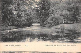 Ansichtkaart Soestdijk Achter het Koninklijk Paleis Baarn HC17809