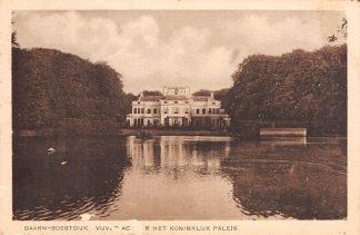 Ansichtkaart Soestdijk Achter het Koninklijk Paleis 1929 HC17810