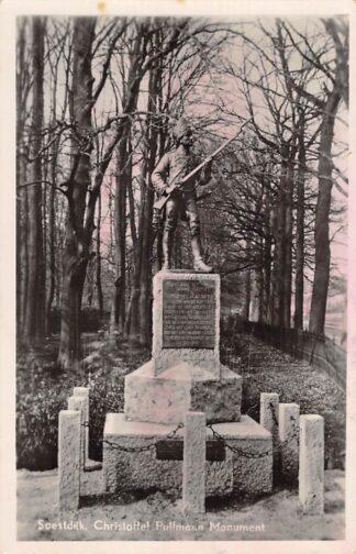 Ansichtkaart Baarn Christoffel Pullmann Monument 1947 HC17826