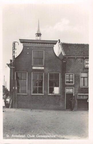 Ansichtkaart Sint Annaland Oude Gemeentehuis 1950 Tholen HC17835
