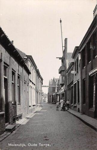 Ansichtkaart Oude Tonge Molendijk Newo fotokaart 1942 Goeree-Overflakkee HC17836