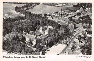 Ansichtkaart Gemert Missiehuis Paters van de H. Geest 1957 KLM Luchtfoto no. 22380 HC17852