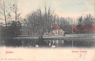 Ansichtkaart Arnhem Boerderij Sonsbeek 1903 HC17874