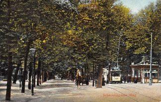 Ansichtkaart Den Haag Scheveningscheweg met HTM tram 439 1908 HC17877