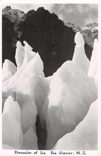 Ansichtkaart New Zealand Pinnacles of Ice Fox Glacier Fotokaart Australië HC17895