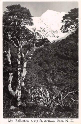 Ansichtkaart New Zealand Mt Rolleston Athurs Pass Australië HC17896