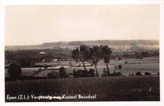 Ansichtkaart Epen Zuid-Limburg Vergezicht met Kasteel Beusdael HC17915