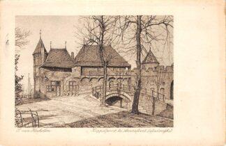 Ansichtkaart Amersfoort Koppelpoort (stadszijde) 1920 HC17947