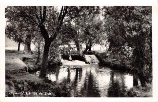 Ansichtkaart Epen Zuid-Limburg Bij de Sluis 1955 HC17948