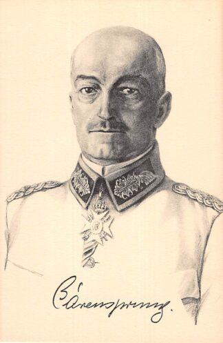 Ansichtkaart Duitsland Generalleutnant Barensprung Militair WO1 1914-1918 Deutschland Europa HC17994