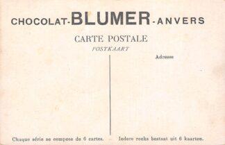 Ansichtkaart België Antwerpen Reclame Chocolat Blumer Anvers Fantasie boederij Europa HC18013