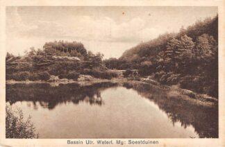 Ansichtkaart Soestduinen Bassin Utrechtse Waterleiding Mij. 1928 HC18048