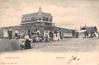 Ansichtkaart Domburg Strandhotel 1904 Walcheren HC18051