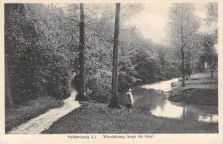 Ansichtkaart Valkenburg (LB) Wandelweg langs de Geul 1931 HC18100