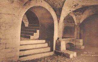 Ansichtkaart Valkenburg (LB) Romeinsche Katakomben Het Atrium der Capella graeca Grot HC18114