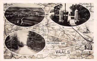 Ansichtkaart Vaals Groeten uit Drielandenpunt HC18135