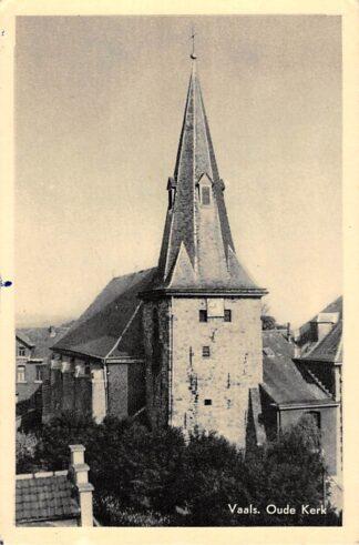 Ansichtkaart Vaals Oude Kerk 1955 HC18157