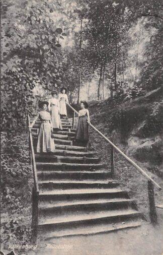 Ansichtkaart Valkenburg (LB) Reuzentrap 1919 HC18166