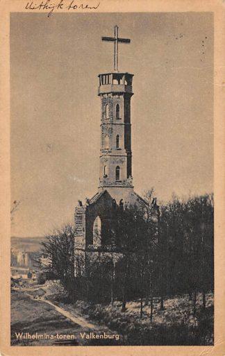 Ansichtkaart Valkenburg (LB) Wilhelmina-toren jaren 40 HC18167