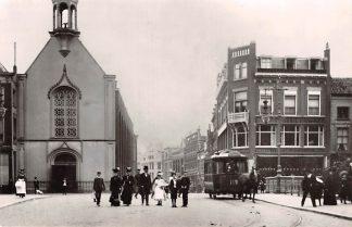 Ansichtkaart Zo was Dordrecht Visbrug omstreeks 1908 Paardentram Tram HC18179