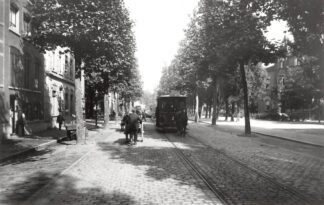 Ansichtkaart Zo was Dordrecht Johan de Wittstraat 1910 Paardentram Tram HC18186