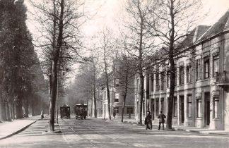 Ansichtkaart Zo was Dordrecht Joh. de Witstraat omstreeks 1910 2x Paardentram Tram HC18197