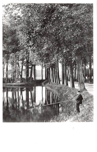 Ansichtkaart  Zo was Dordrecht Dubbeldamseweg omstreeks 1900 Visser HC18205