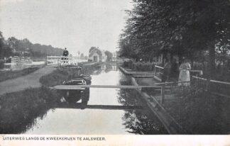 Ansichtkaart Aalsmeer Langs De Kweekerijen HC18214