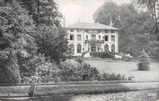 Ansichtkaart Zeist Schoonoord 1913 HC18258