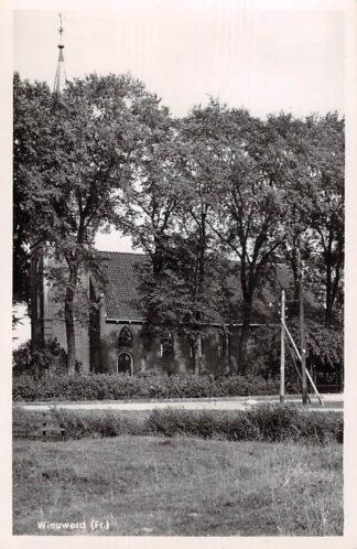 Ansichtkaart Wiewerd Ned. Hervormde Kerk HC18271