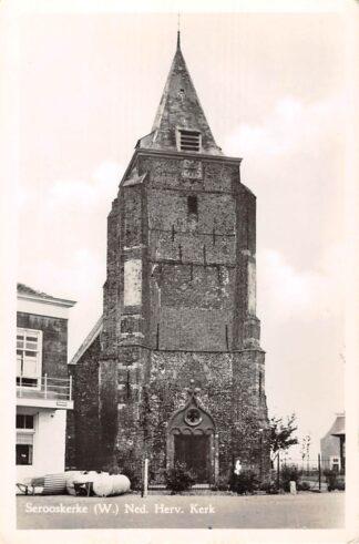 Ansichtkaart Serooskerke Walcheren Ned. Hervormde Kerk HC18272
