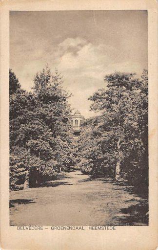 Ansichtkaart Heemstede Belvedere Groenendaal 1922 HC18279