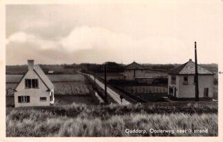Ansichtkaart Ouddorp Oosterweg naar 't strand 1947 HC18308