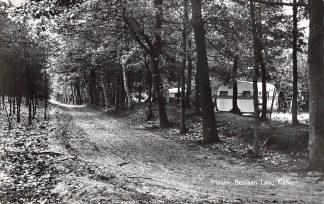 Ansichtkaart Maarn Boslaan Vakantie centrum Laag Kanje Caravan Camping 1960 HC18309