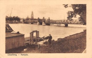 Ansichtkaart Kampen IJssel IJsselbrug 1925 HC18336