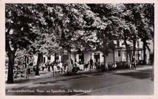 Ansichtkaart Noordwijkerhout Thee- en Speeltuin De Nachtegaal 1951 HC18355