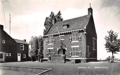 Ansichtkaart Banholt Gemeentehuis 1968 Eijsden - Margraten HC18368