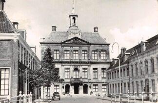 Ansichtkaart Weesp Stadhuis Amsterdamsche Bank 1963 HC18371