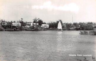 Ansichtkaart Nieuw Loosdrecht Camping 1963 HC18373