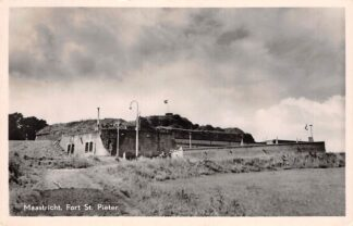 Ansichtkaart Maastricht Fort St. Pieter 1950 HC18390