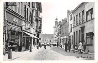 Ansichtkaart Hulst Steenstraat 1961 Zeeuws-Vlaanderen HC18393