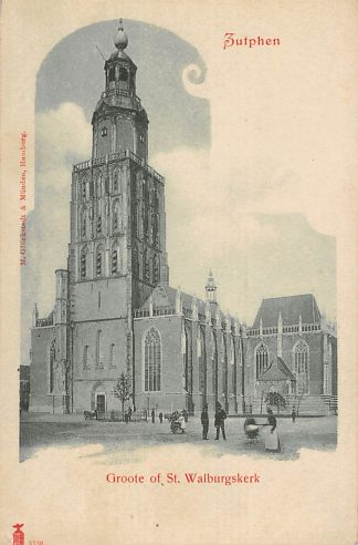 Ansichtkaart Zutphen Groote of St. Walburgskerk HC18402